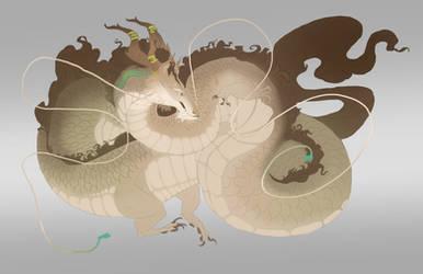 custom long dragon