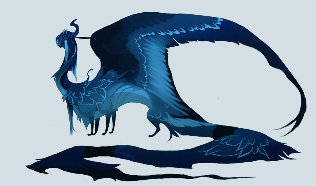 blue emperor by Grimmla