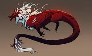 bloody beast adopt (open!) by Grimmla