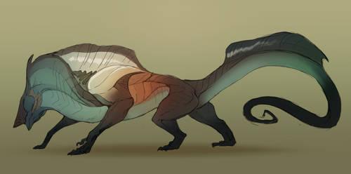 Alien beast OPEN by Grimmla