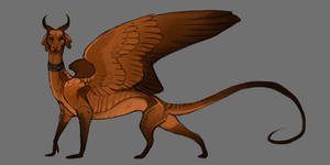 Vizsla dragon (OPEN) by Grimmla