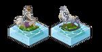 recent pixel islands by Grimmla