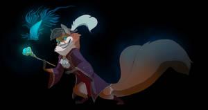 Patreon release fox by Grimmla