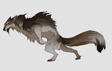 werewolf adopt (OPEN) by Grimmla