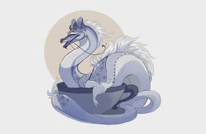 London fog baby tea dragon (CLOSED by Grimmla
