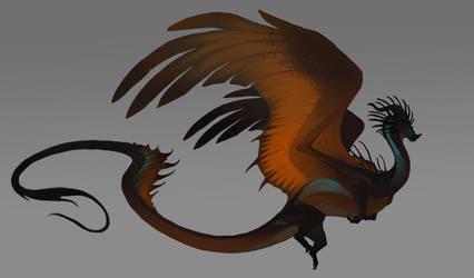 Copper dragon closed by Grimmla