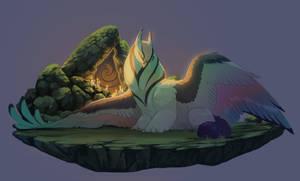 shrine guardian by Grimmla