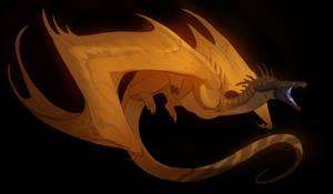 black headed dragon