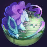 suicune stickers