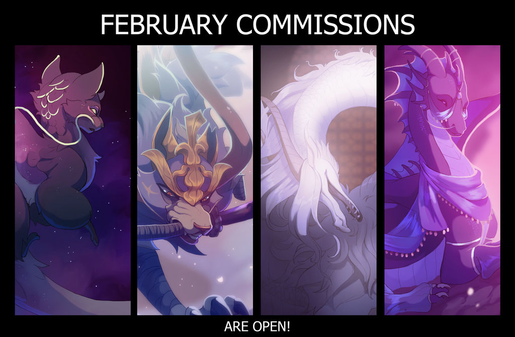February Commissions are open!