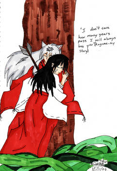Inuyasha and Kagome my endding