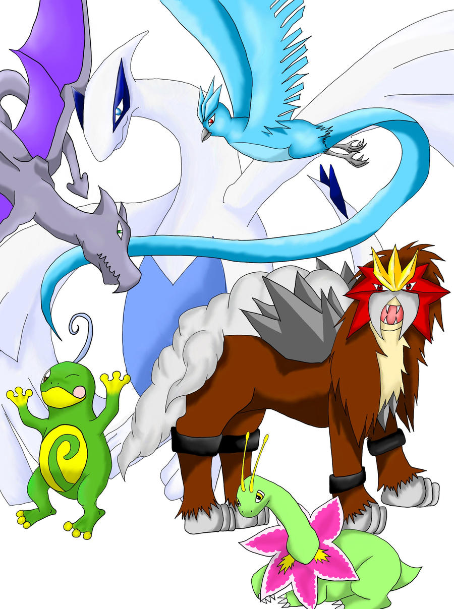 Main Pokemon 6 Gold Verison by enyce122