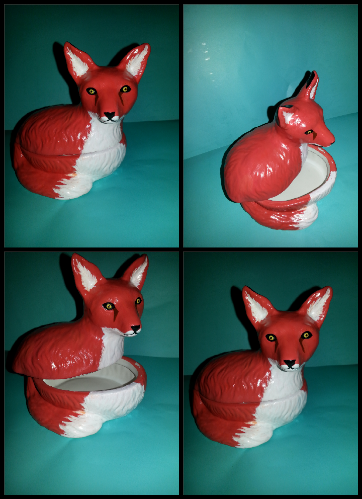 Fox Jar by enyce122