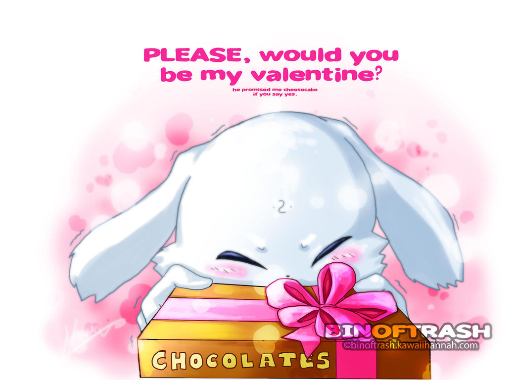 Please Would You Be My Valentine? By Binoftrash ...