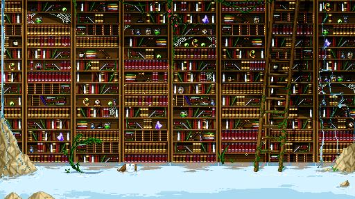 Library by binoftrash