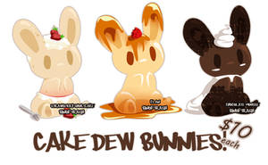 Adopts - Cake Dew Bunnies