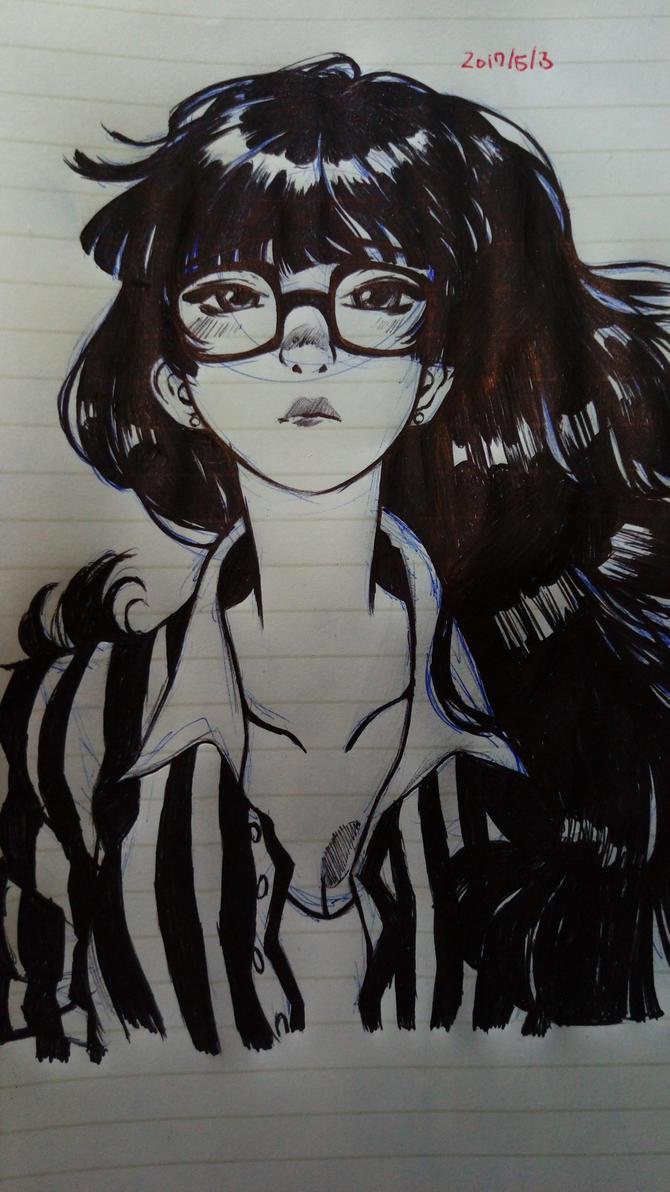 copy of art originally by Jisoo kim by shadowlinkdth