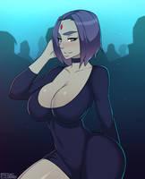 Raven in da club by foxicube
