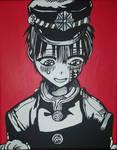 Hanako painting