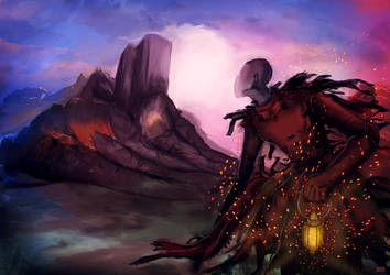 The Wanderer's Lamp by blitzARiTz