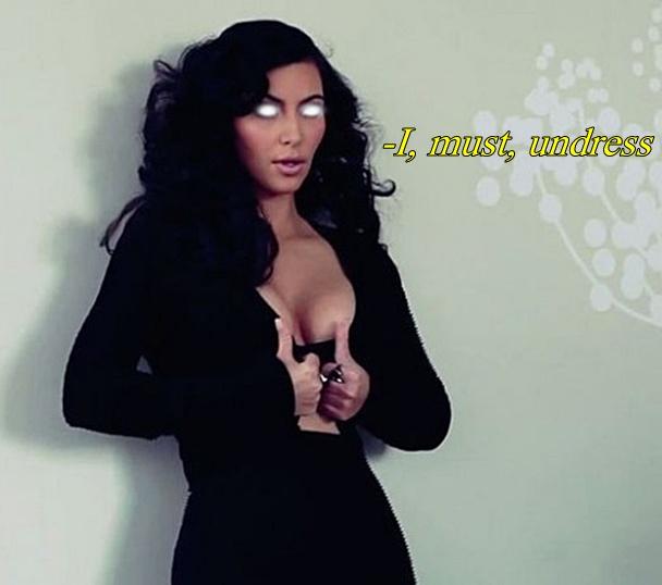 Kim Kardashian Hypnotized to Undress by messiasguardiola