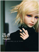 Character Motto: Hayaki by aPPlejaZZ