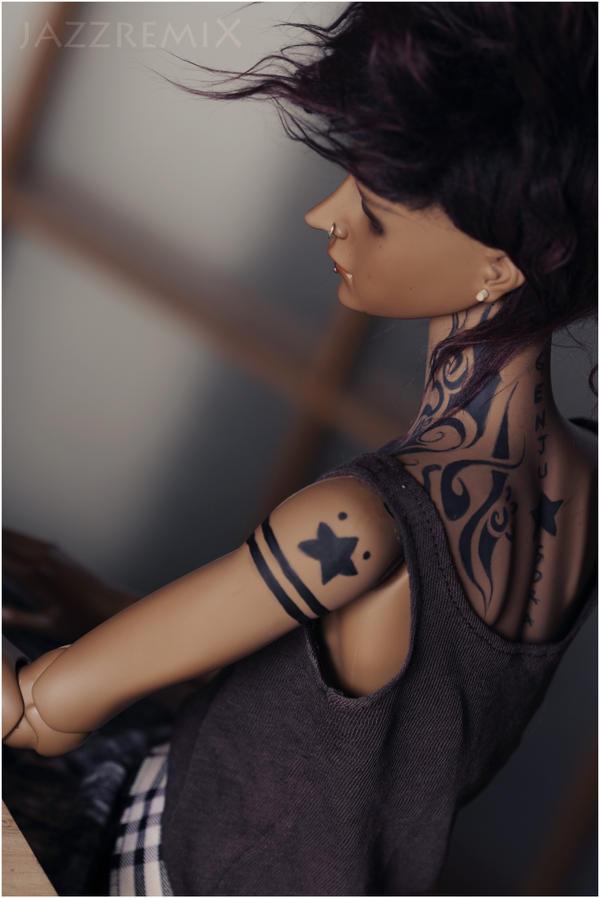 .hira:tattoo. by aPPlejaZZ