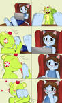 Comic - Nutty's play time with Neena