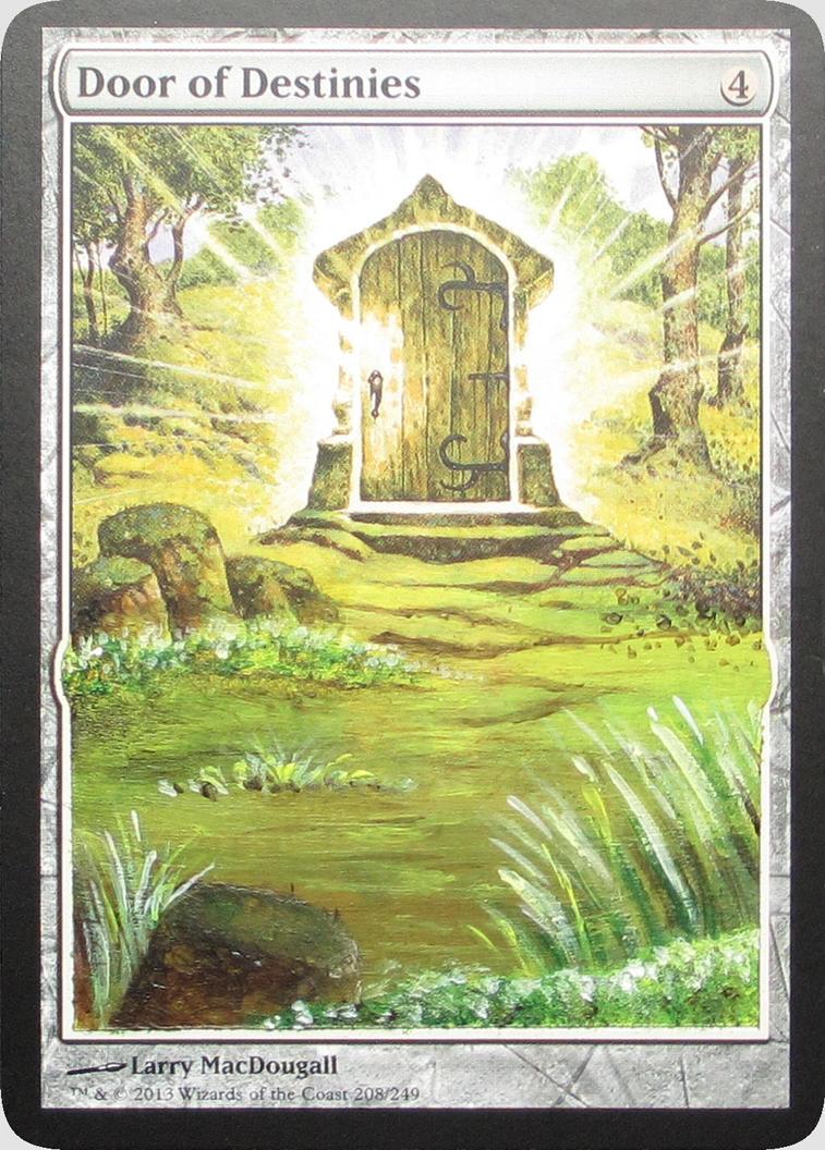 Door of destinies cut altered art mtg by alteredartcards for Door of destinies