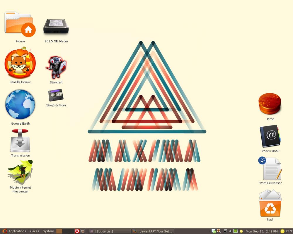 Desktop 9+15+08 by Matt-kun29