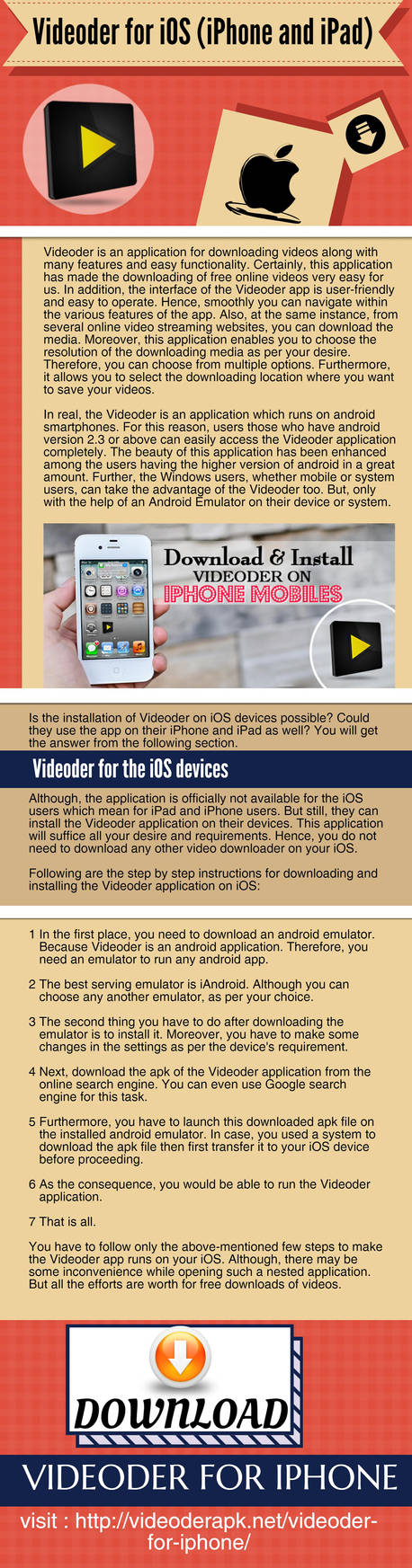 Videoder For IOS (IPhone And IPad) by videoderapk on DeviantArt