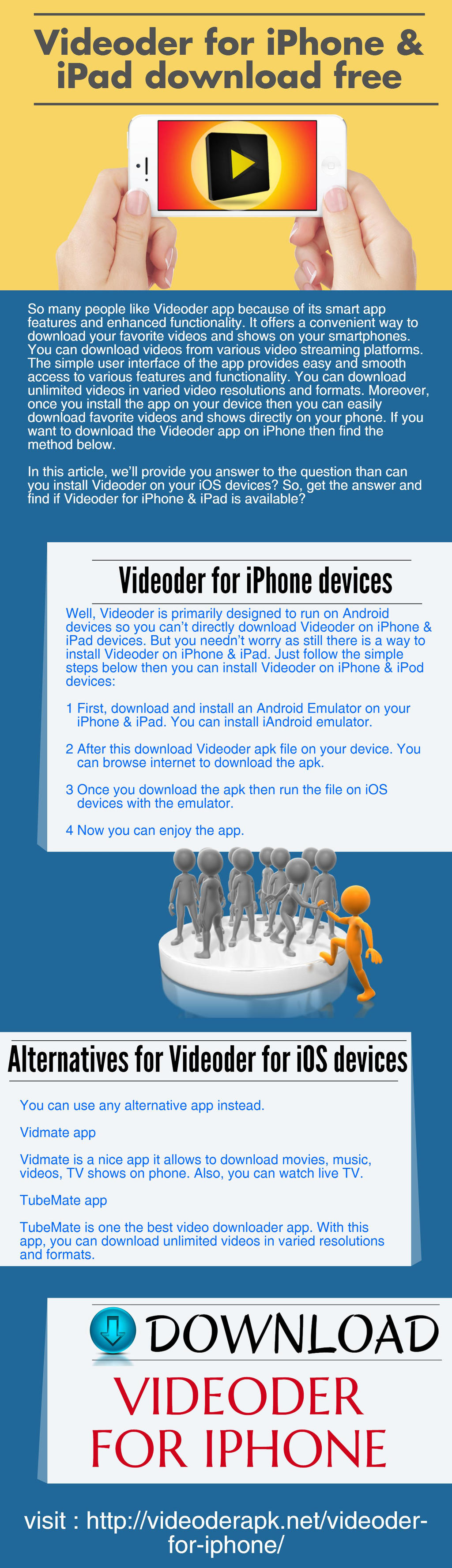 Videoder For IPhone And IPad Download Free by videoderapk on
