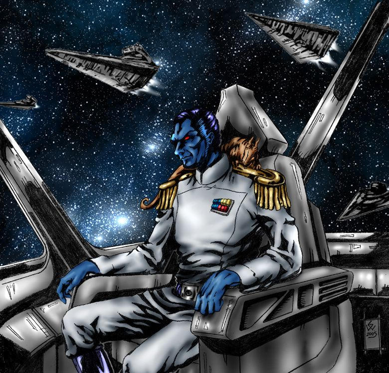 Grandadmiral Thrawn by DR-Husar