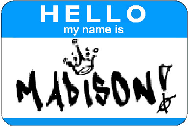pictures of the name madison