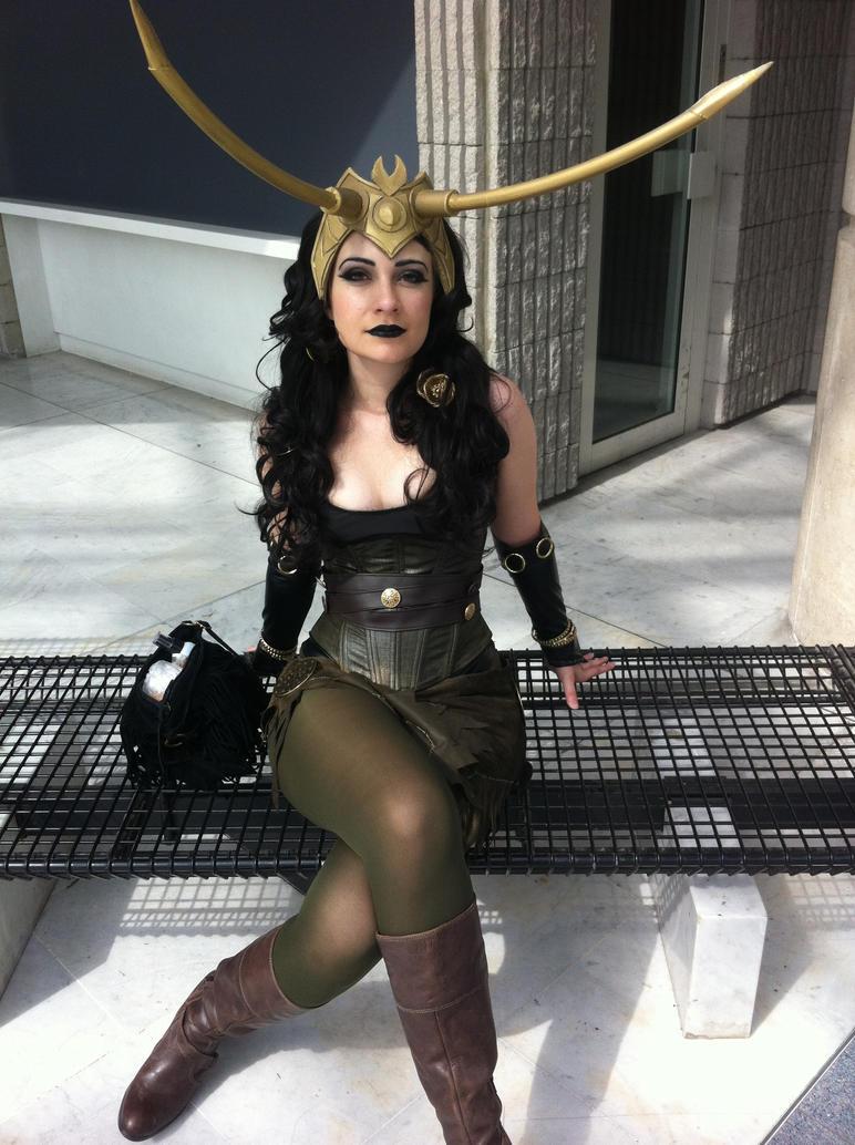 Lady Loki Preview by Lsine