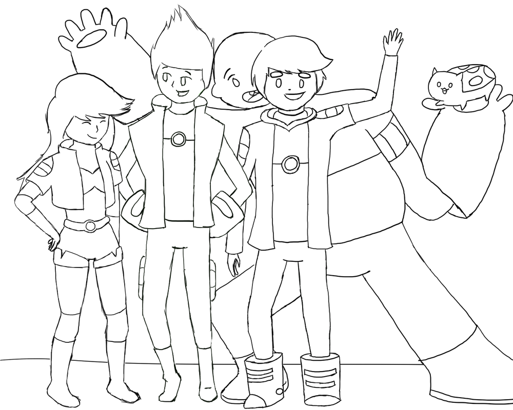 Bravest warriors wip by forevermuffin on deviantart for Catbug coloring pages
