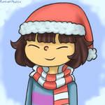 Christmas Frisk Icon