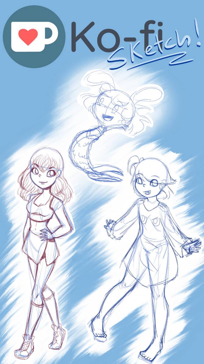 Ko-Fi sketches!