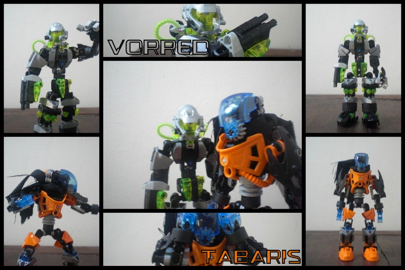 Self Matoran: Chapter 1 - Vorred and Tabaris by Leaith