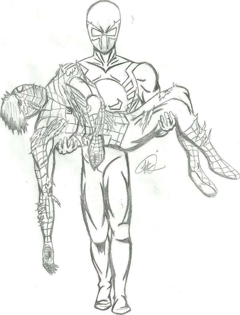 Spider man edge of time by greenmind dead on deviantart for Spider man 2099 coloring pages