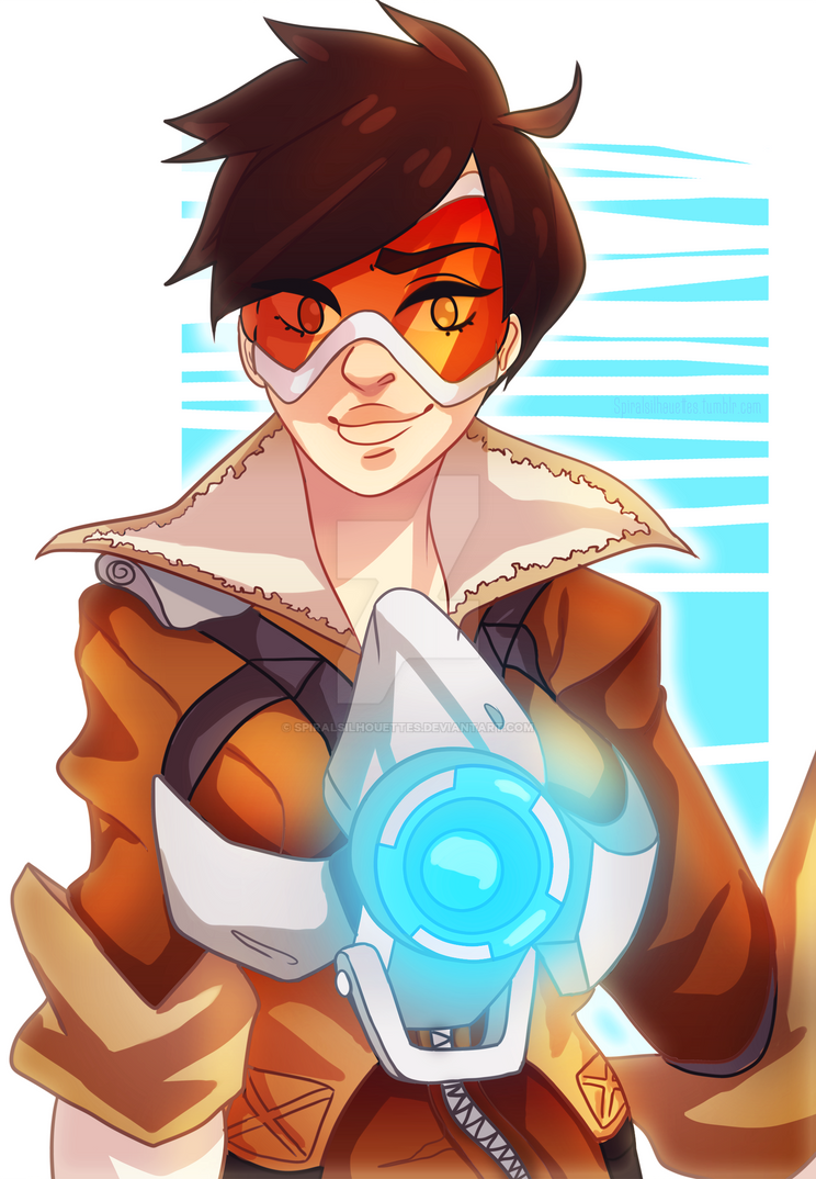 Overwatch - Tracer by SpiralSilhouettes