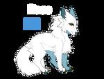 Standing dog - P2U base