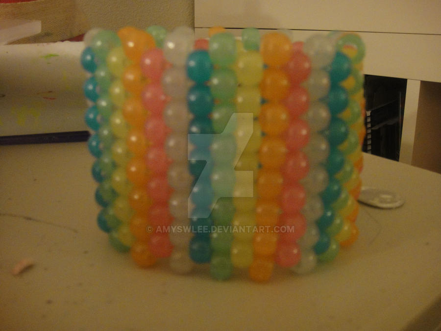 Rainbow Glow In The Dark Cuff by amyswlee