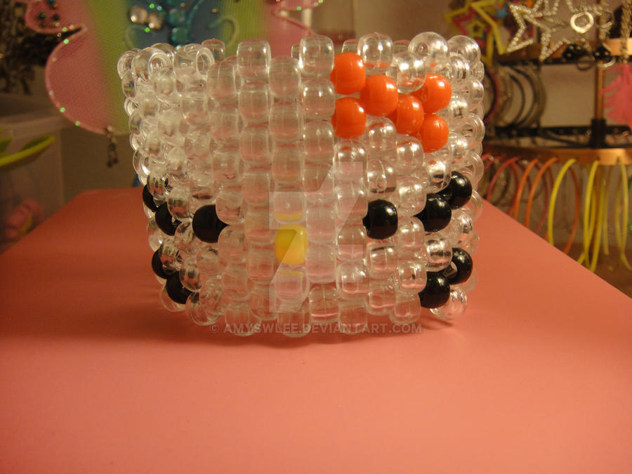 Clear Hello Kitty Cuff by amyswlee