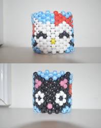 Hello Kitty Chococat Cuff by amyswlee