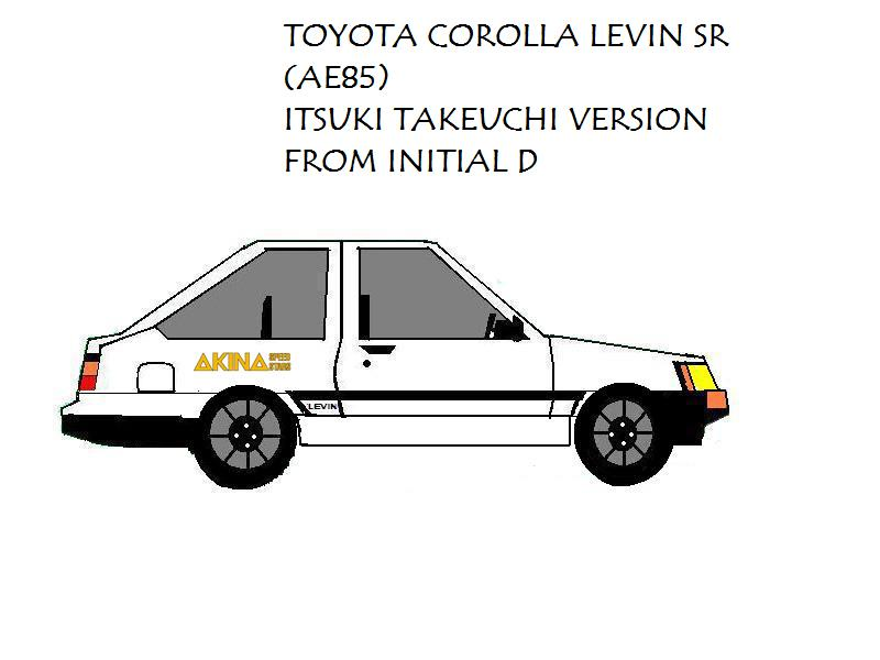 Toyota Levin AE85 Itsuki Ver  by pete7868 on DeviantArt