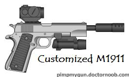 Customized M1911 by pete7868