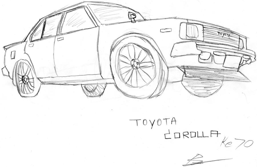 corolla coloring pages | Toyota Supra Drawing Sketch Coloring Page