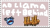 No Llama Left Behind Stamp by Demanter