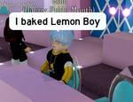 I baked lemon boy